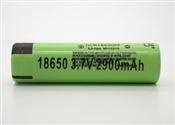 PANASONIC 18650 2900MAH FLAT TOP