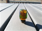 Handblown Green 510 Glass Drip Tip