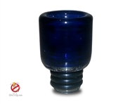 Blue 510 Pyrex Glass Drip TIp