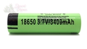 PANASONIC 18650 3400MAH FLAT TOP