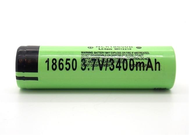 Panasonic 18650 3400mah Ncr18650b Li Ion Battery