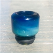 810 Colored Glass Drip Tip- Fumed