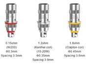 ASPIRE TRITON MINI TANK REPLACEMENT COIL (SET OF 5)