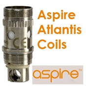 Single Replacement Sub Ohm Coils for Aspire Atlantis Tank Clearomizer