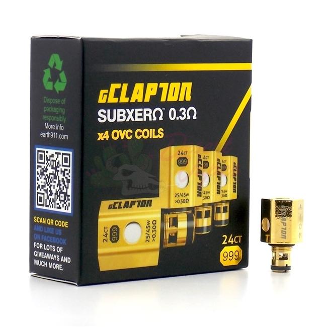 Replacement ATOM 4PC ECLAPTON OVC COILS FOR KANGER SUBTANK MINI, PLUS & NANO