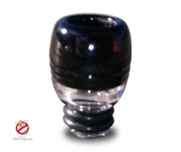USA Made Black 510 Pyrex Glass Drip Tip