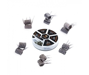 GEEKVAPE KANTHAL STAPLE STAGGERED FUSED CLAPTON PREBUILT COIL - 2 PACK