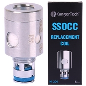 KANGER UPGRADED SSOCC NICKLE COILS (0.15Ω) FOR NEBOX, TOPBOX, SUBVOD & SUBTANK MINI, NANO, PLUS