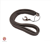 eGo Lanyard with Ring Clip, Gray