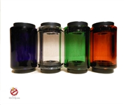 Hand blown Pyrex glass tanks made from the first ever Pyrex glass drip tip manufacture.