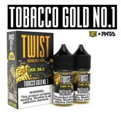 TWIST SALTS TOBACCO GOLD NO. 1 - 2 PACK