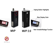 iTaste MVP v2.0 Variable Voltage / Wattage Box Mod with 2600mAh Accessory Charging Pack